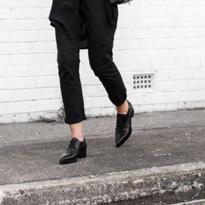 Jeffrey Campbell Belanger Loafers in Black